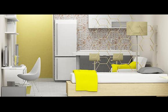 Soluci n 131  claves para decorar tu monoambienteSoluci n 131  claves para decorar tu monoambiente   Living  . Revista Living Decoracion Monoambientes. Home Design Ideas