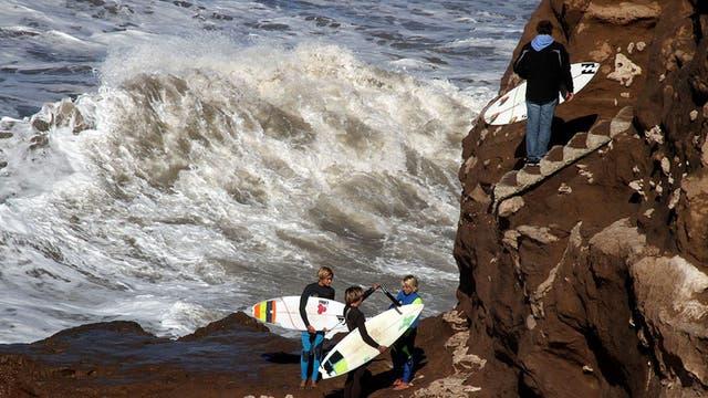 El surf argentino tuvo su fiesta en Mar del Plata