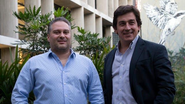 Federico Procaccini y Martin Frankel
