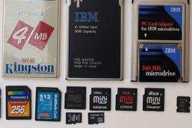 La tecnología memory flash evolucionó tanto en tamaño como en capacidad y este año tuvo un papel importante en cámaras digitales y teléfonos celulares