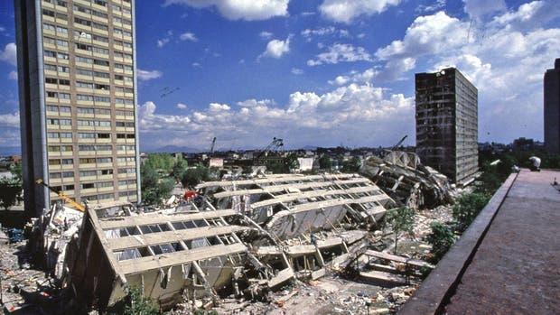 El terremoto que golpeó a México en 1985