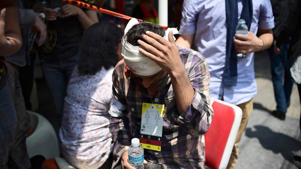 Un terremoto sacudió a la Ciudad de México. Foto: AFP / Ronaldo Schemidt