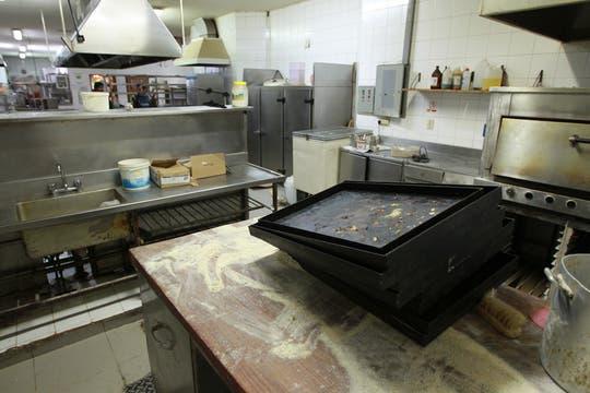 Así quedó la cocina del café. Foto: LA NACION / Aníbal Greco