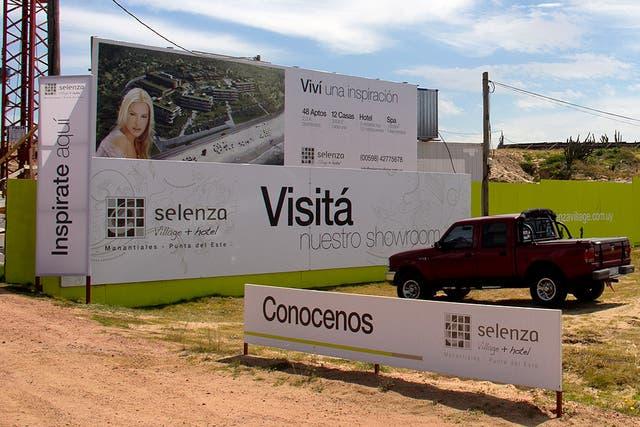 El rostro de Valeria es la imagen de la empresa