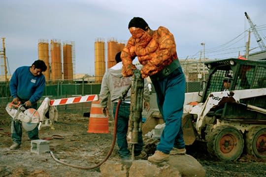 La mole, es Luis Hernandez, de Veracruz, trabaja como demoledor en New York y manda 200 dolares por mes. Foto: www.dulcepinzon.com