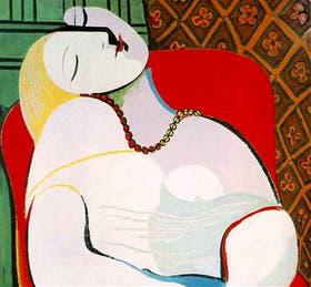 El sueño, la obra más cara de Picasso