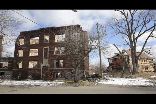 Las fotos de la ciudad de Detroit. Foto: EFE
