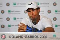 Una bomba en Roland Garros: Nadal se baja por una lesión en la muñeca