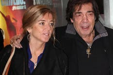 Cacho Castaña y Marina Rosenthal, una pareja que atravesó los momentos más duros del cantante