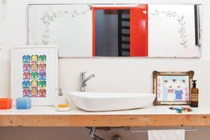 Dos propuestas para decorar tu baño