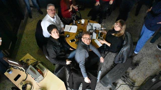 El equipo del programa de radio Cosas que Pasan