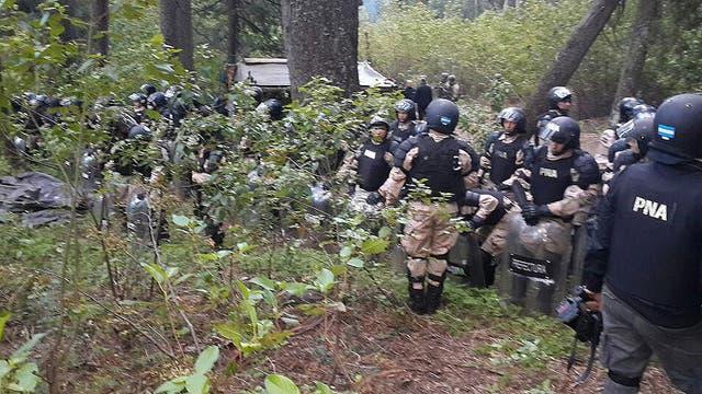 Ayer hubo un operativo de Prefectura en Bariloche donde resultó muerto un mapuche