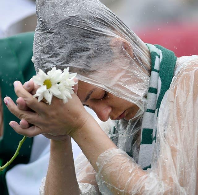En Chapecó, la angustia y el desconsuelo dominaron ayer la extensa ceremonia en homenaje a los jugadores que murieron en Colombia