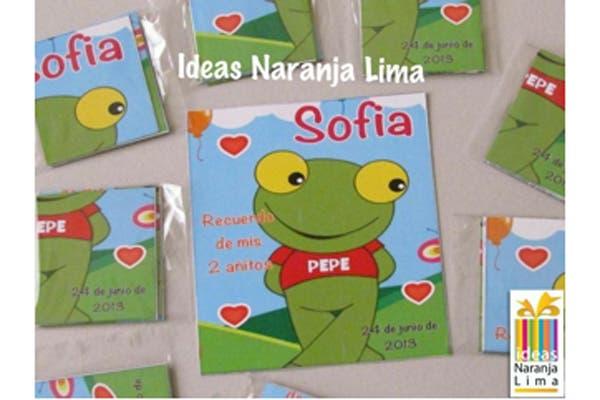 Una opción de tarjeta de invitación a la fiesta de cumpleaños. Foto: Foto: Gentileza ideas Naranja Lima