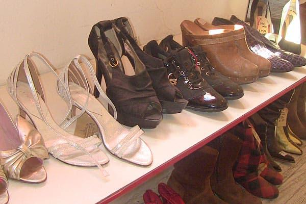 Diferentes estilos de zapatos. Foto: Cecilia Wall