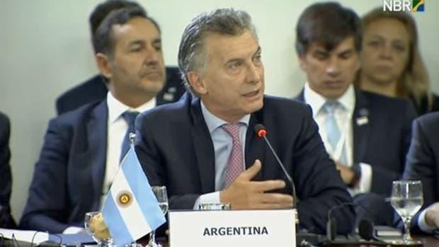 La Argentina sea la vidriera del mundo en 2018, según sostiene el canciller Jorge Faurie