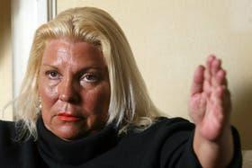 La diputada nacional de la Coalición Cívica, Elisa Carrió