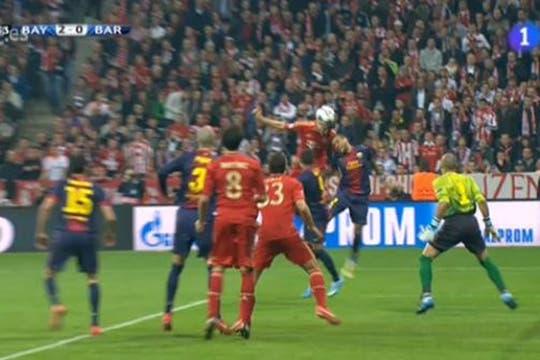 Barcelona estuvo desconocido y perdió 4 a 0. Foto: Captura de TV