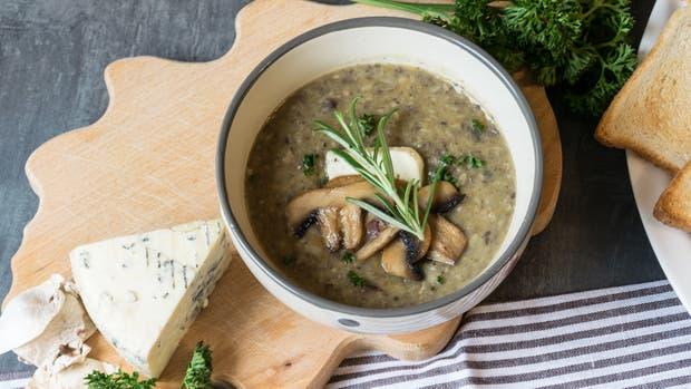Una de las grandes bellezas del invierno: la posibilidad de una sopa calentita