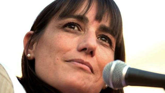 La titular de Suteba de la Matanza, Romina Del Plá