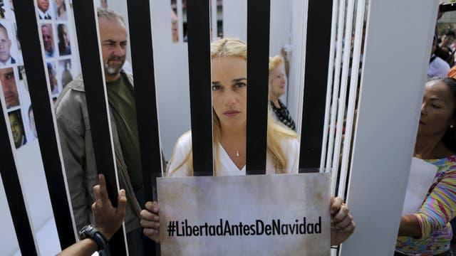 Lilian Tintori reclama su libertad