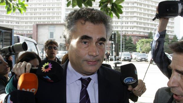 Alejandro Vanoli, en los tribunales de Comodoro Py