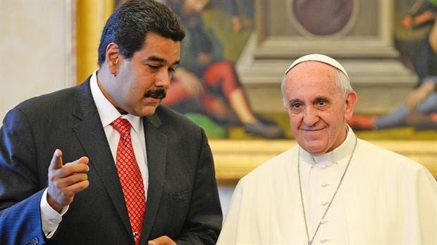 Nicolás Maduro le pidió al Papa ayuda contra la amenaza militar de EE.UU.