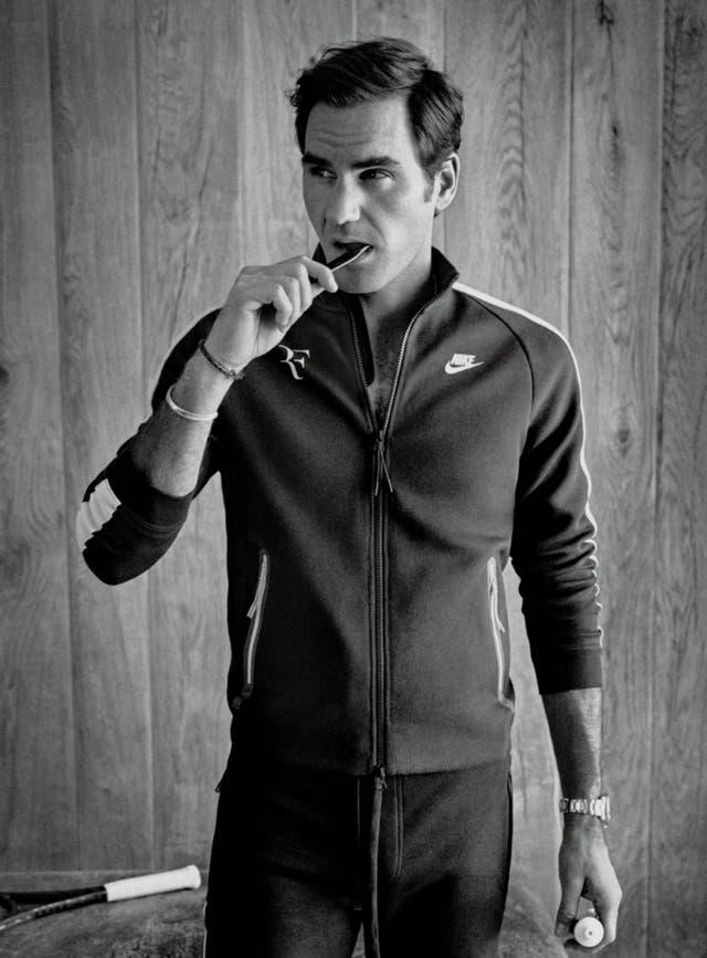 Federer, modelo de GQ