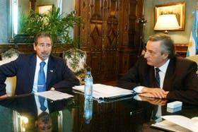 Cirielli habló de presuntos movimientos de dinero entre Jaime y Kirchner