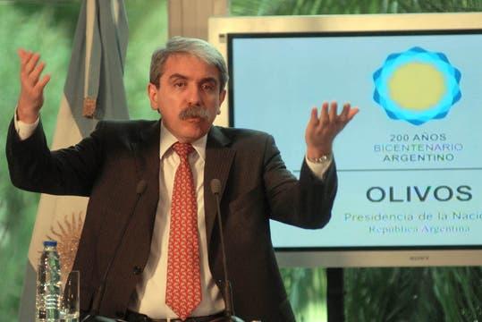 Aníbal Fernández dejará la jefatura de Gabinete para ocupar una banca en el Senado. Foto: Télam