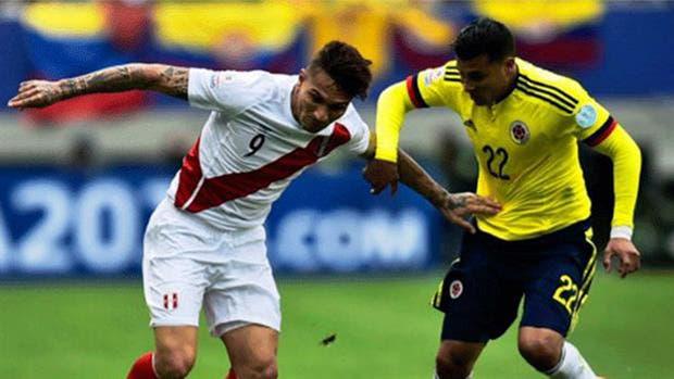 Perú-Colombia, eliminatorias