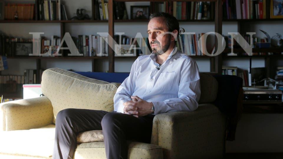 El Juez Federal de Esquel, Guido Otranto. Foto: LA NACION / Ricardo Pristupluk