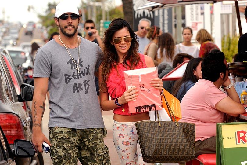 Karina y Leo, de paseo.. Foto: gentileza Perfil.com
