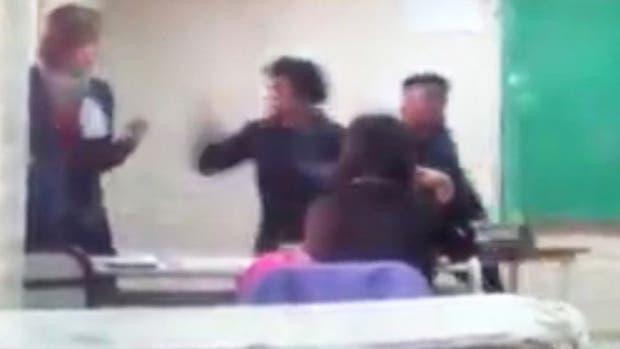Una alumna golpeó a una docente — La Pampa