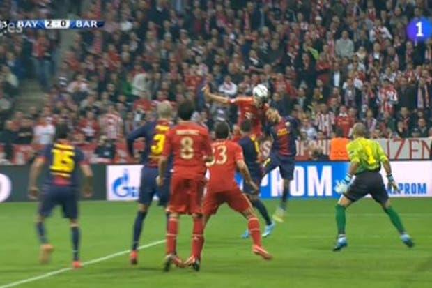 Barcelona estuvo desconocido y perdió 4 a 0.  /Captura de TV