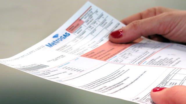 Las facturas de gas que lleguen hasta octubre se podrán pagar en cuatro cuotas