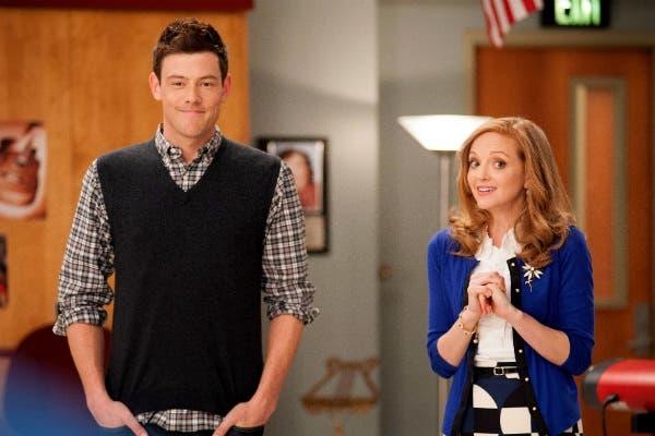Cory Monteith como Finn en Glee