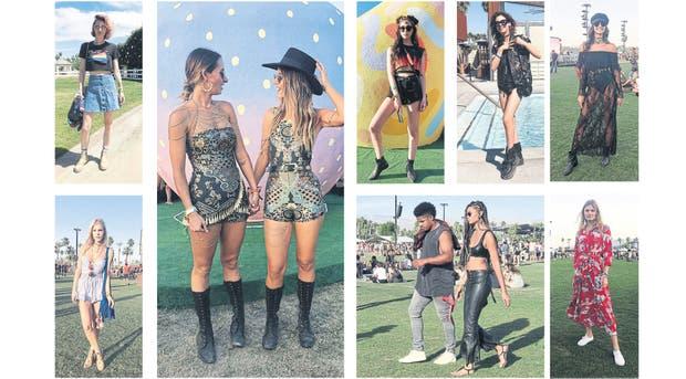 El primer fin de semana de Coachella, a puro look
