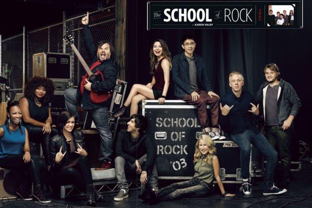 El elenco de Escuela de Rock, hoy