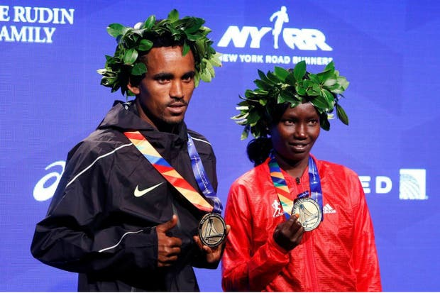 Ghirmay Ghebreslasi y Mary Keitan, vencedores