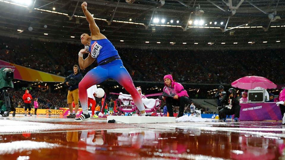 Campeonato Mundial de Londres, Yaniuvis Lopez de Cuba. Foto: Reuters