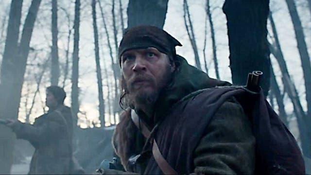 Tom Hardy en El renacido, la película con más nominaciones