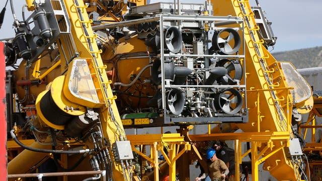 Submarino ARA San Juan: el minisubmarino de EE.UU. se suma a la búsqueda