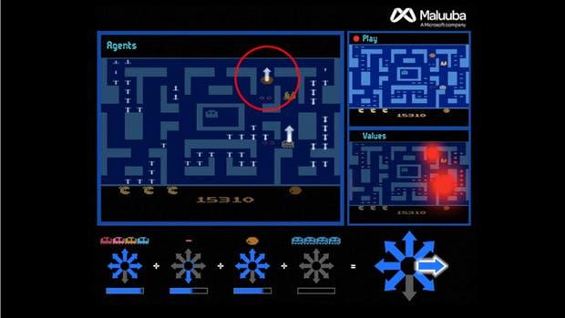 El equipo de investigadores asignó tareas a varios agentes virtuales, que luego permitían elegir la mejor opción para sortear los obstáculos