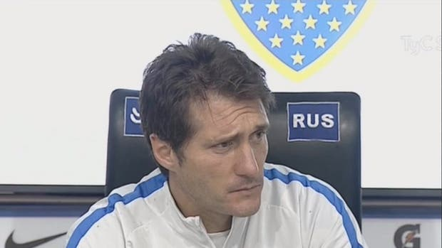 Guillermo Barros Schelotto dice que no condicionó al árbitro Loustau