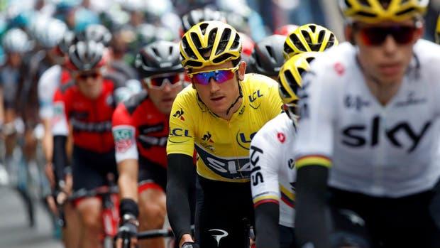 El Tour, en su etapa entre Alemania y Bélgica