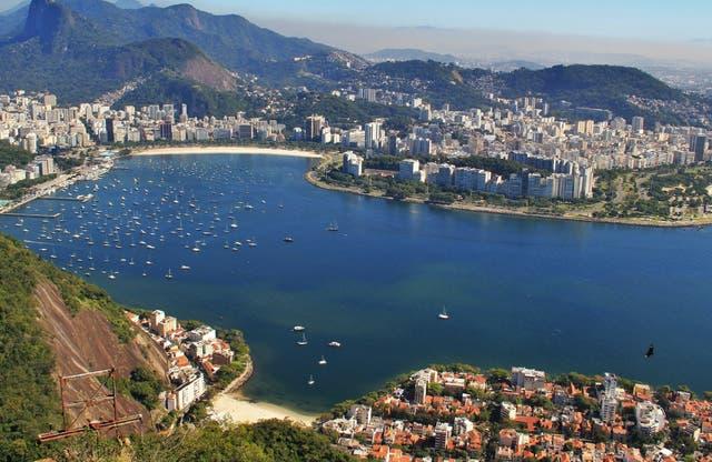 Vista del Pan de Azúcar, el símbolo de Río de Janeiro