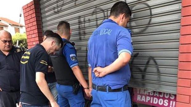 El 22 de febrero fueron detenidos dos policías locales