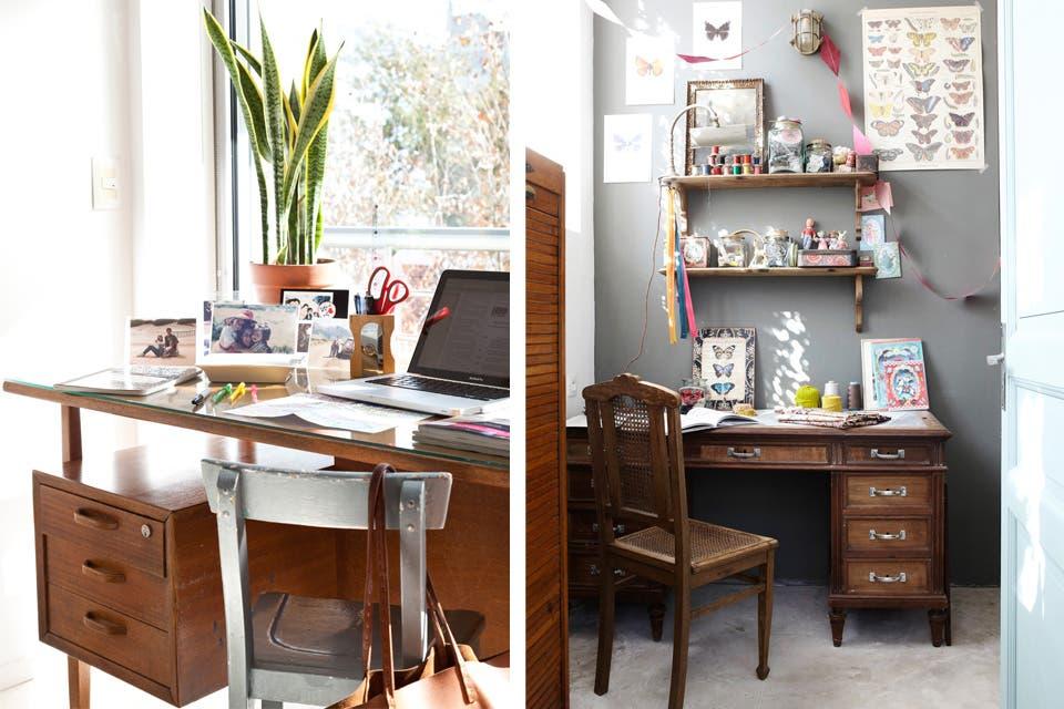 Ideas para darle vida a tu escritorio antiguo