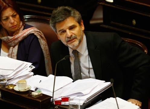 Daniel Filmus, del Frente para la Victoria, votó a favor. Foto: LA NACION